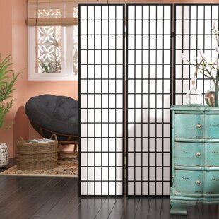 World Menagerie Triana Gia 3 Panel Room Divider
