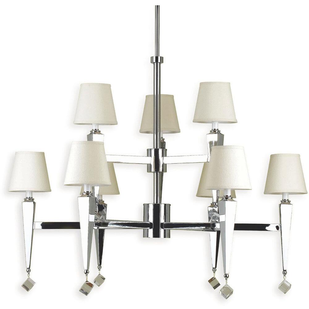 Af lighting 9 light shaded chandelier wayfair