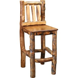 Amias 24 Bar Stool Millwood Pines