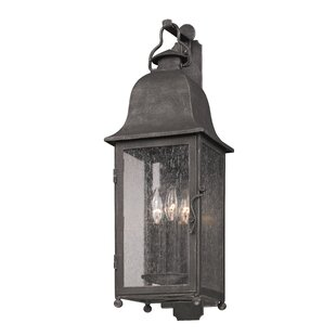Darby Home Co Susannah 3-Light Outdoor Wall Lantern