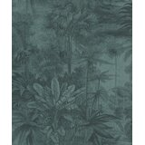 Mahn Tropical Print 33' L x 21 W Metallic Wallpaper Roll by Bayou Breeze