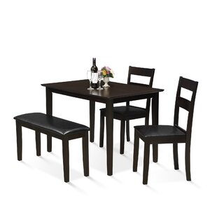 Mealor 4 Piece Dining Set by Red Barrel Studio