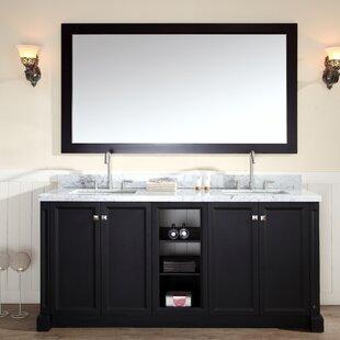 Asa 73 Double Bathroom Vanity Set ByRed Barrel Studio