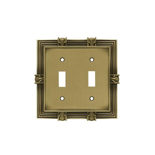 Franklin Brass Pineapple 2 Gang Toggle Light Switch Wall Plate Reviews Wayfair
