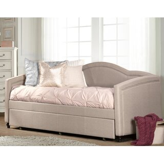 "Gilberts 42.32"" Twin Daybed with Trundle by Three Posts SKU:CD691304 Description"