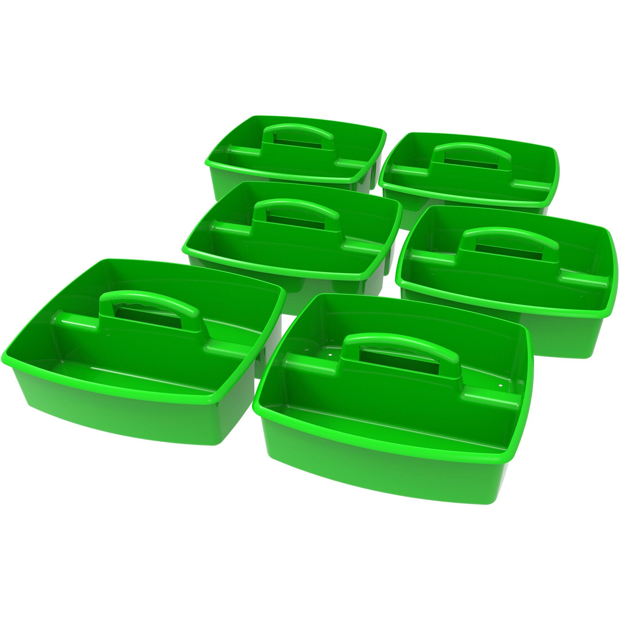 Storex 2 Compartment Cubby Bin Reviews Wayfair