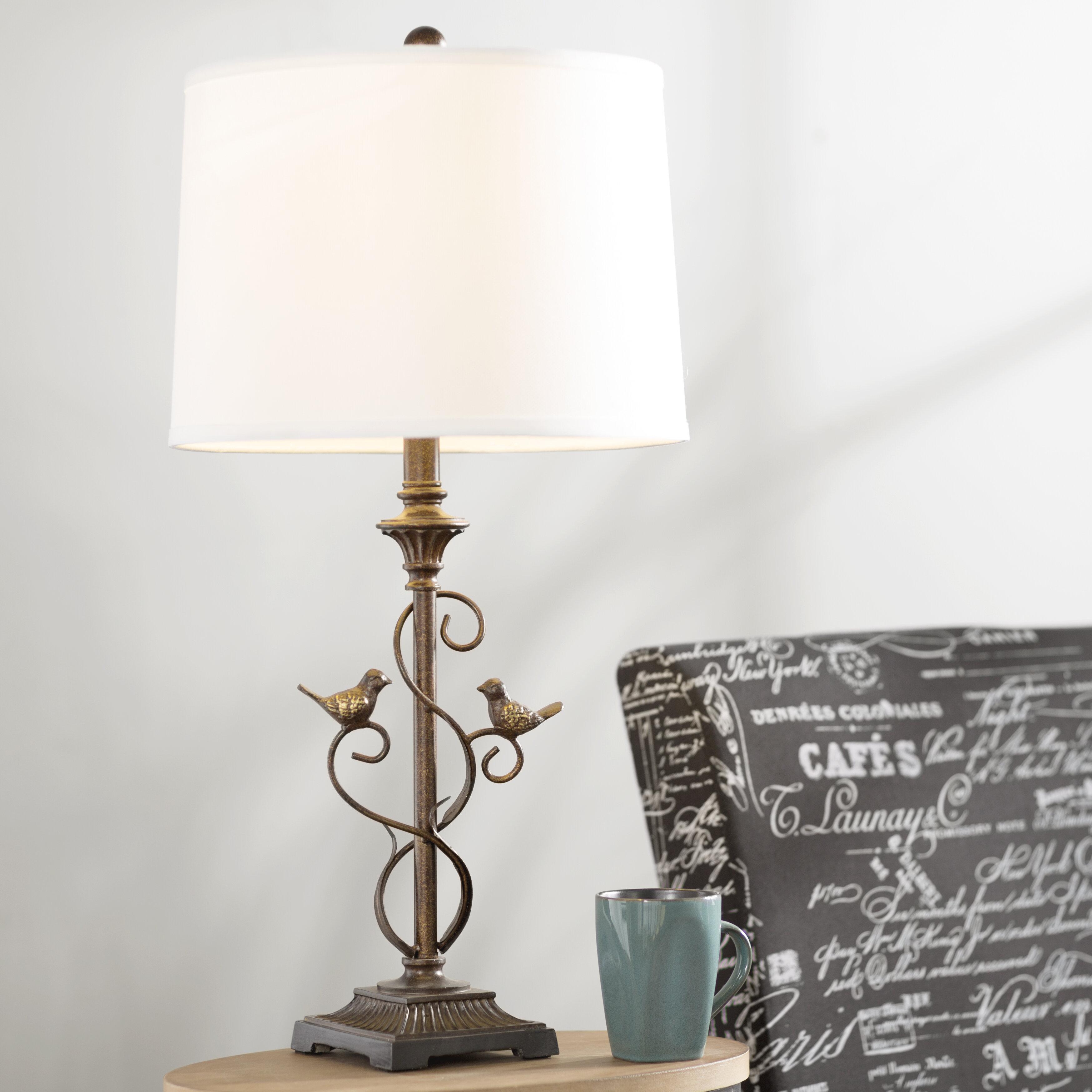Lark manor lefkowitz 28 table lamp reviews wayfair