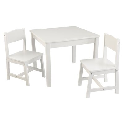 Pleasing Kidkraft Aspen Kids 3 Piece Writing Table And Chair Set Machost Co Dining Chair Design Ideas Machostcouk