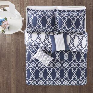 Kyle 5 Piece Reversible Print Comforter Set