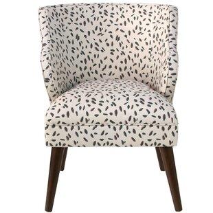 Ivy Bronx Senneterre Modern Neo Leo Linen/Cotton Side Chair
