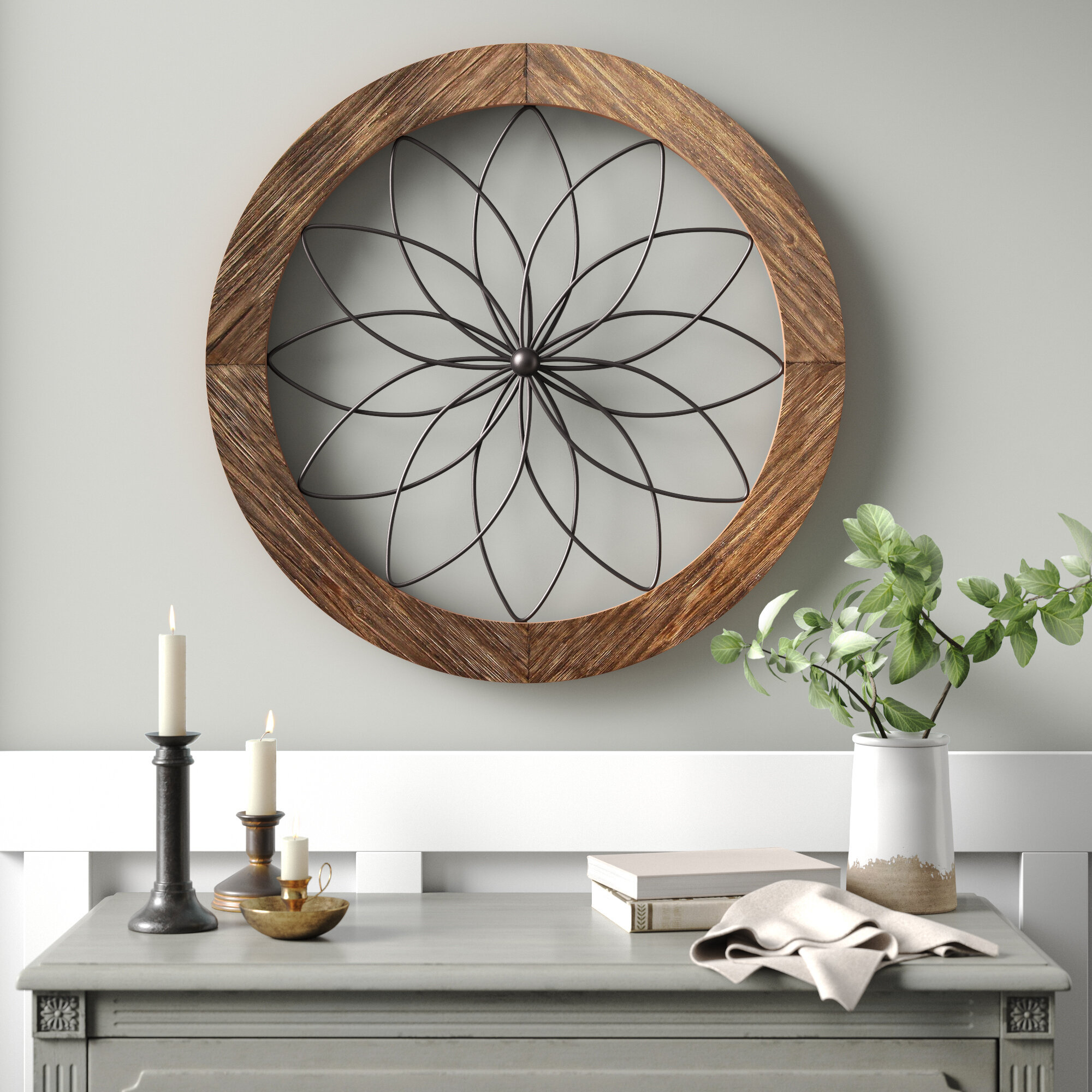 Brown Wall Accents Free Shipping Over 35 Wayfair