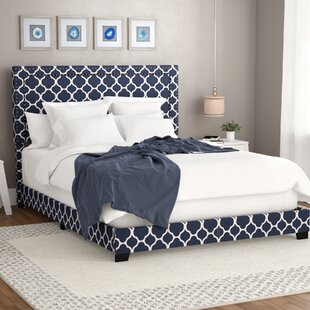 Wrought Studio Crichton Upholstered Panel Bed