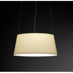 Vibia Warm Medium Pendant with Off White ..