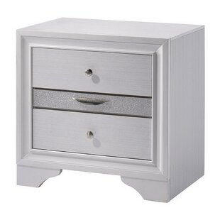 Randell 3 Drawer Nightstand