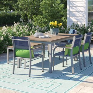 Caspian 6 Piece Outdoor Dining Set by Sol 72 Outdoor