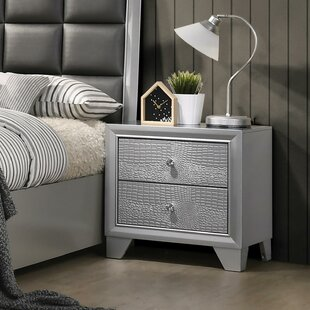 Wash 2 Drawer Nightstand by House of Hampton