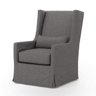 Kay Swivel Wingback chair