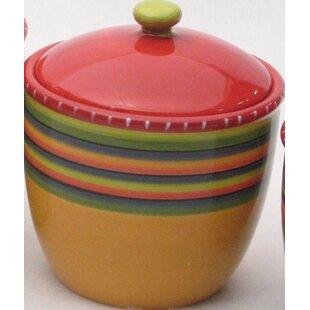 4 Piece Storage Jar Set