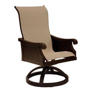 Leona Jakarta Sling Swivel Rocking Chair