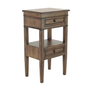Reviews Idlewild Traditional Table with Storage By Bay Isle Home