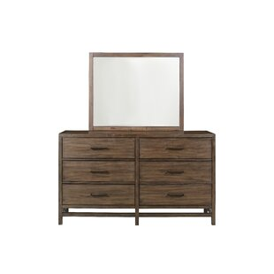 Han 6 Drawer Double Dresser