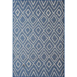 Sailer Greg Navy Indoor/Outdoor Area Rug