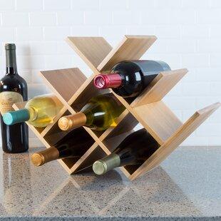 Fleur De Lis Living Varela 8 Bottle Tabletop Wine Rack