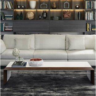 Beckenham Coffee Table With Tray Top By Modloft Black