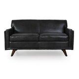 Ari Genuine Leather Loveseat by Corrigan Studio®
