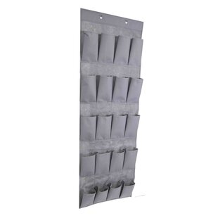 Affordable Polyester 20 Pair Overdoor Shoe Organizer By Home Basics