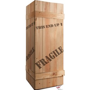 Fragile Leg Lamp Crate - A Chritmas Story Cardboard Standup By Advanced Graphics