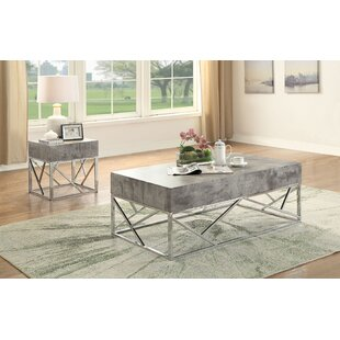 Hutson 2 Piece Coffee Table Set Orren Ellis