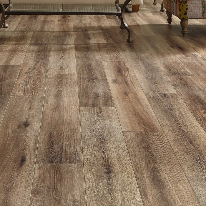 Restoration Collection 8 X 51 12mm Laminate Flooring In Brushed Coffee