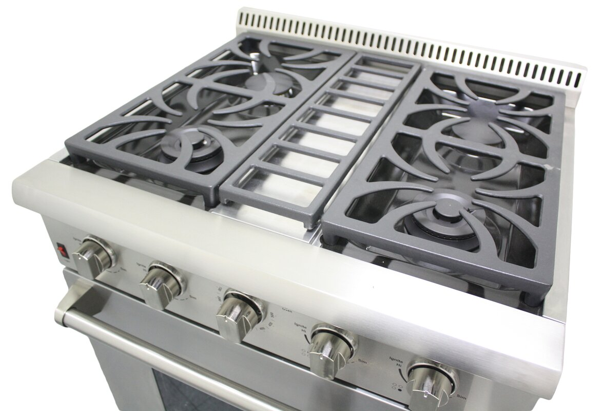 thorkitchen professional 30 free standing gas range reviews