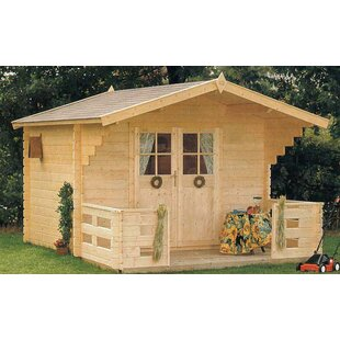 Douglas 10 Ft. W X 8 Ft. D Wooden Storage Shed By SolidBuild