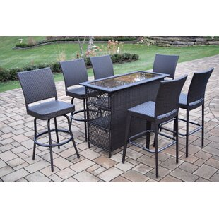 Darby Home Co Parishville 7 Piece Bar Set