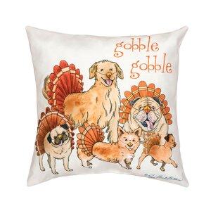 Fergerson The Gobblers Indoor/Outdoor Throw Pillow