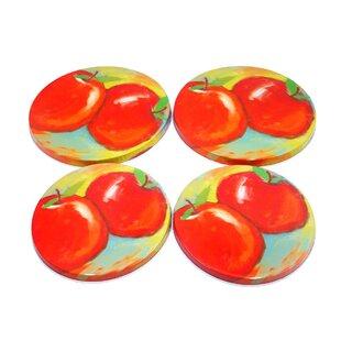 4 Piece Apple Burner Cover Set