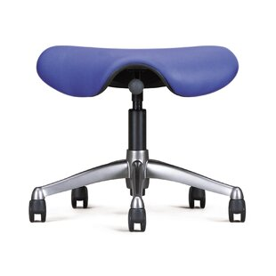 Height Adjustable Saddle Seat with Casters