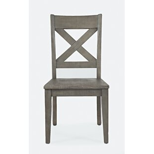 Mcilwain Solid Wood Dining Chair (Set of 2) by Gracie Oaks