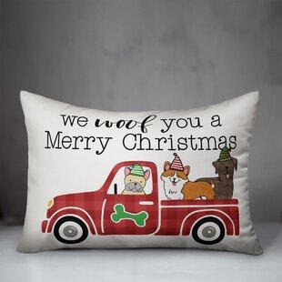 Christmas Truck Pillow Wayfair