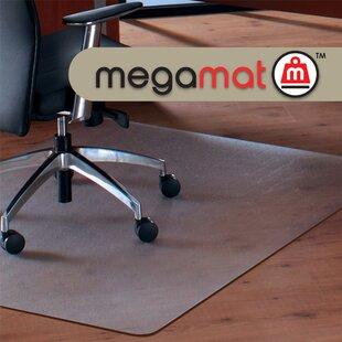 Cleartex Megamat Hard Floor Straight Edge Chair Mat By Floortex