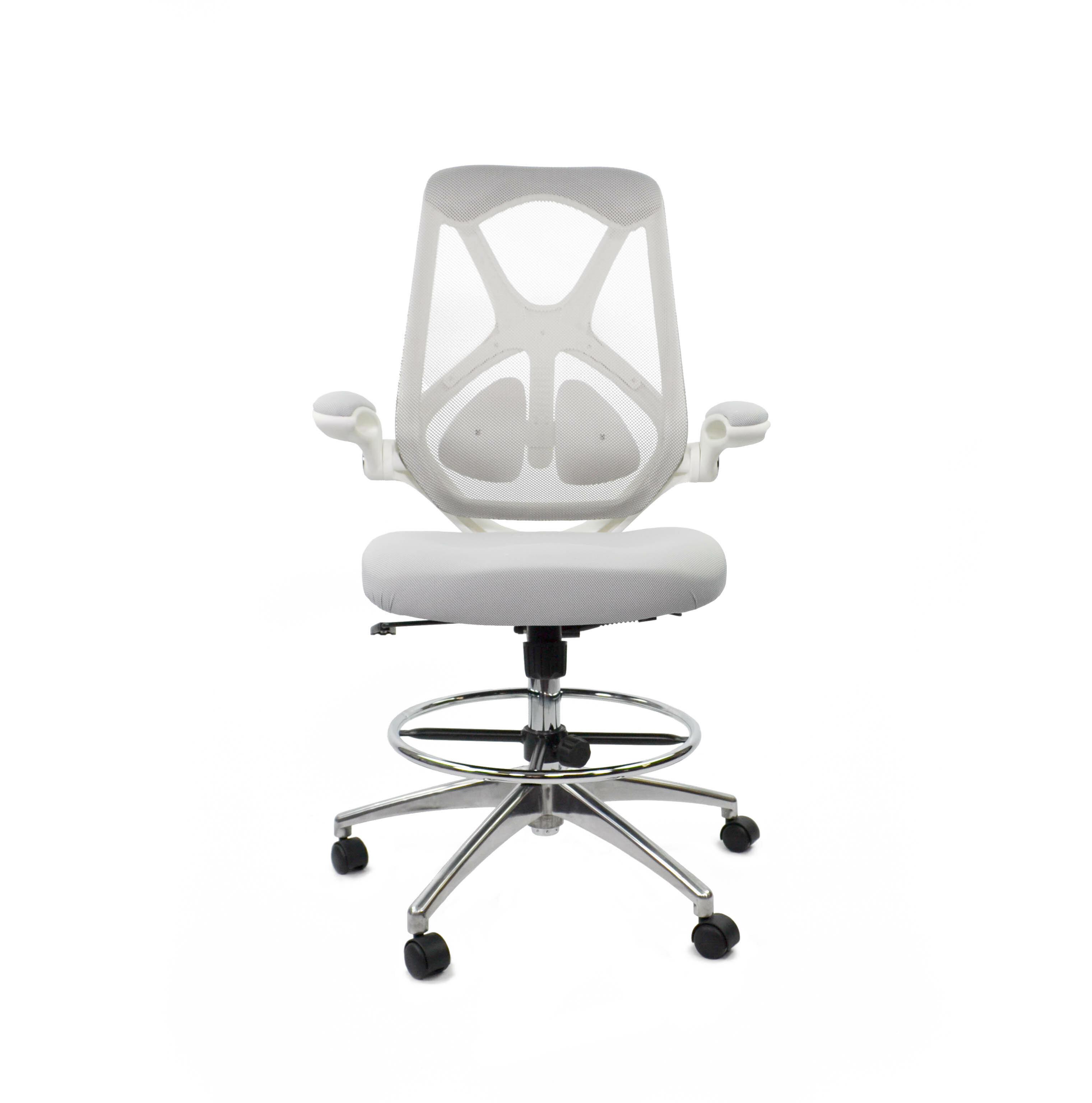 fräsch high back mesh drafting chair reviews wayfair