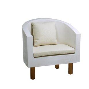 Blanken Garden Chair with Cushion by Metro Lane