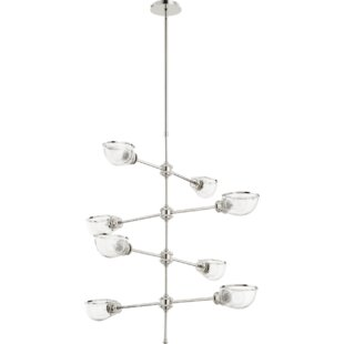 Williston Forge Digiovanni 8-Light Shaded Chandelier