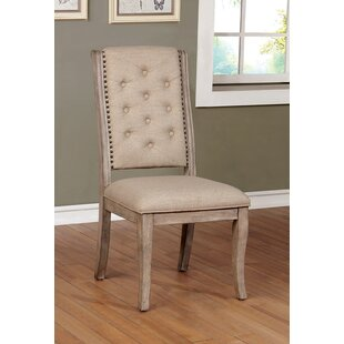 Mcdougal Tufted Upholstered Side Chair Set of 2 by Ophelia amp Co