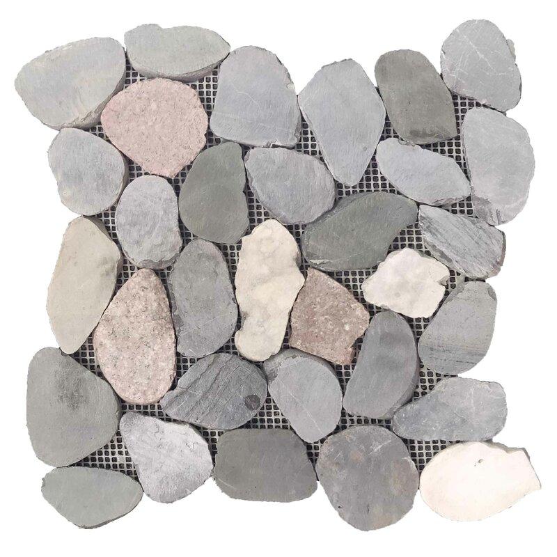 Natural Stone Pebble Tile