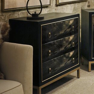 Online Reviews Almanza 3 Drawer Chest by Mercer41