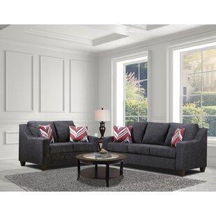 Brenan Nationwide 2 Piece Standard Living Room Set by Red Barrel Studio