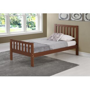 Crescent Twin Platform Bed by Harriet Bee